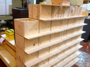 Bumblebee nest boxes manufactured here in NW England
