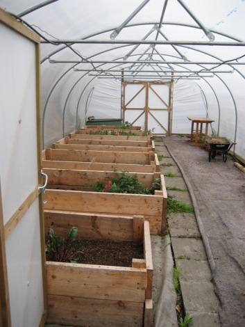Raised Beds at Rotters
