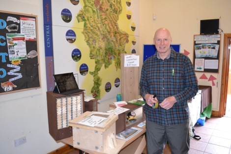 George Pilkington at Staffordshire Wildlife Trust