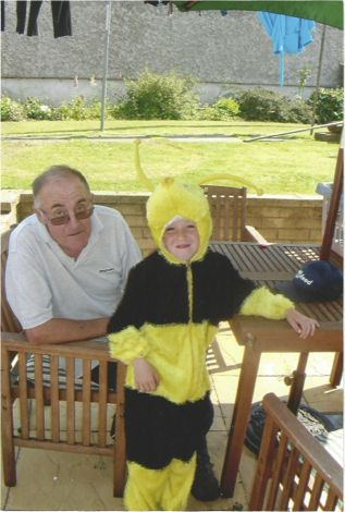 Male Scott bumblebee with grandad Gareth!!