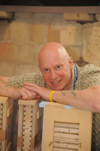 George Pilkington Nurturing Nature with bees inside a nest box!